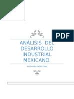 Análisis Del Desarrollo Industrial Mexicano