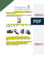-Diferencia Entre Hardware-software y Los Elementos de Una Computadora
