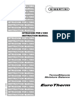 Documento Anexo 4 Manual de Instrucciones de Uso de Termobalanza de Humedades Gibertini