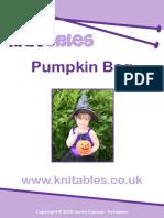 Pumpkin Bag for Halloween