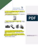 Diferencia Entre Hardware-software y Los Elementos de Una Computadora