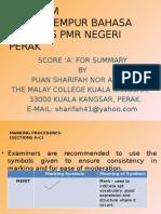 MArking Procedures for Pt3