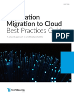 WP - DWH - BI - Application Migration to Cloud Best Practices Guide