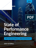 WP - DWH - BI - State of Performance Engineering 2015-16