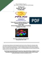 PFLAG Buffalo/Niagara October Newsletter 2016