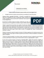 20/09/16 Trabaja Gobierno del Estado de manera estrecha con la Cuarta Región Naval -C.091699