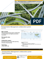SAP Transportation Management Collaboration Portal - Overview