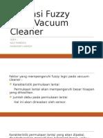 Aplikasi Fuzzy Pada Vacuum Cleaner