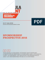 Formula Student Sponsor Brochure Web