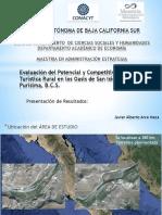 Evaluación Del Potencial y Competitividad Turística Rural