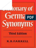 27.Dictionary of German Synonyms