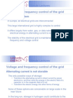 Voltage and Frequency Control