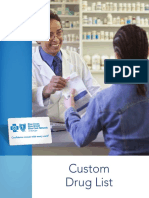 Custom Drug List Formulary