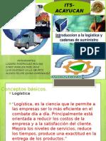 Unidad 1 Introduccion Ala Logistica y Cadena de Suministros