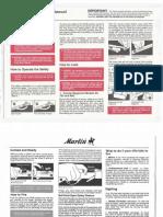Marlin60, 75. 99M & 989MI Manual