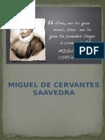 Trabajo de Cervantes