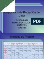 Dispositivos de Recepción de Datos