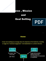 Vision Mission Goal Setting Bus. Processes