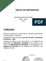 Resistencia de Materiales _ Torsion