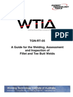 Guide to Fillet Welding