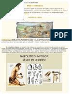 Avances Tecnológicos en La Prehistoria