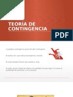 Teoria de Contingencia (1)