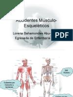 Accidentes Músculo-Esqueléticos