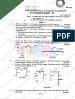 Structural Analysisii Dec08 Jan09