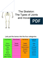 Joints Movement Powerpoint