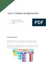Tema 2 Creacion Paginas Web