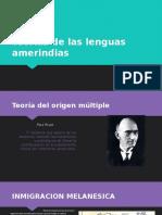 Teorias Lenguas Amerindias