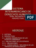 BLOQUE 1 Sistema Interamericano de Derechos Humanos