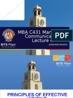 MBA C431 LEC 4 Business Writing Fundamentals.ppt
