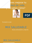 Texto Promocional - Mix Saludable
