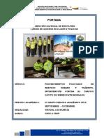 6. Procedimientos Policiales Su y Transito