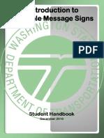 V Ms Student Handbook 2011