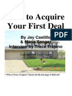 How to Acquire Your First Deal