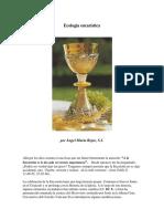 Ecologia Eucaristica - Angel Ma Rojas SJ