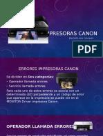 Impresoras Canon