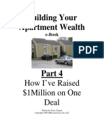 Building Your Apartment Wealth, Part 4