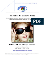 Nearsightedness Pinhole e Booklet