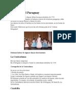 Danzas en El Paraguay