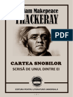W.M. Thackeray – Cartea Snobilor [V1.0]