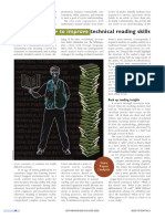 How to Improve Technical Reading Skills