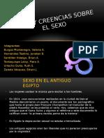 MITOS Y CREENCIAS DEL SEXO