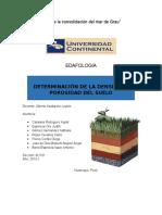 Informe de Laboratorio 5 - Determinacion de La Densidad y Porosidad Del Suelo 2