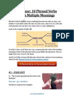 Webinar Phrasal Verbs Multiple Meanings