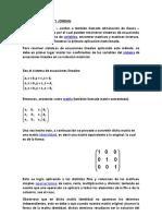 Método de Gauss y Jordan