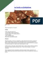 Brze Čokoladne Kocke Sa Lješnjakom