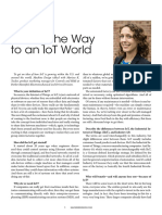Paving the Way to an IoT World